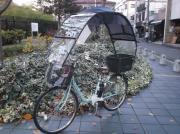 ついに出た、自転車の屋根    コロポックル
