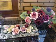 フローラ・樹脂粘土の花