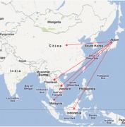 アジア進出の第一歩