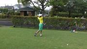 ジュニアゴルファーとして歩み出す息子の成長記録