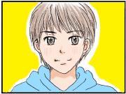 4コマ漫画『cue(キュー)』