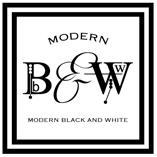 Modern Black and White Shop Blog