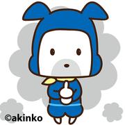 犬のキャラクター「HAPPY DOG 製作所」