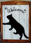 猫がいる床屋さん