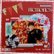 OH MY HAPPYBOY -Scrapbooking Day's-