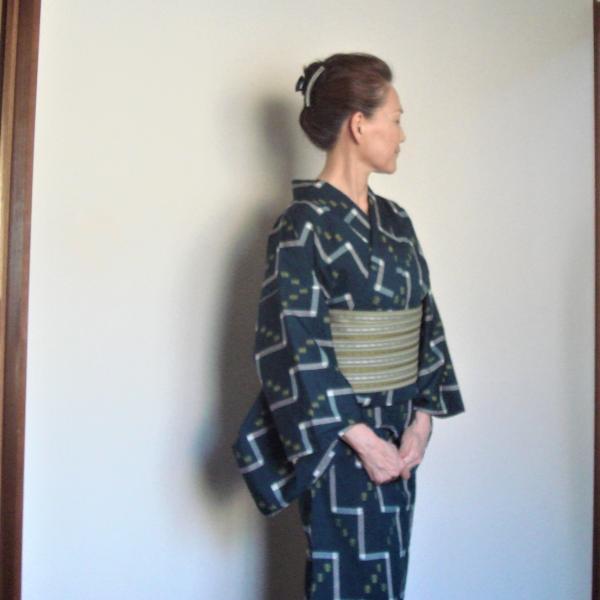 50代60代の普段着物〜母の着物からハッピーライフ
