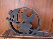 木製のオリジナル雑貨をハンドメイド