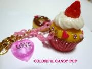 colorful candy pop
