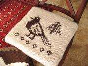 大草原の小さな家で編む