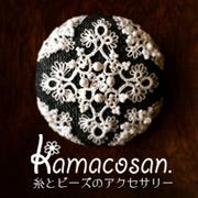 kamacosan. 糸とビーズのアクセサリー