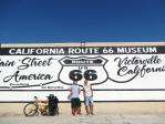 自転車アメリカ横断 NY from LA