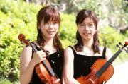 双子の女性バイオリニスト AYA、MAIのブログ