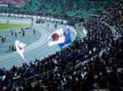 街でサッカー日本代表応援!パブリックビューイング
