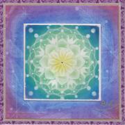 曼荼羅アートは心の花、神聖幾何学模様は魂の記憶