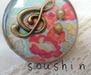 草心-soushin- *yu-choのレジンアクセサリー*