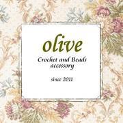 Crochet and Beads ハンドメイド * olive