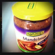 Mandelmus mit Honig. <目指せZero Waste in ドイツ>