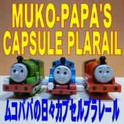 ムコパパの日々カプセルプラレール