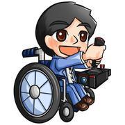 明日へのバリアフリー〜ジョイスティック車と車いす〜