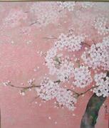 日本の美しい花、風景を感動したままに描いています