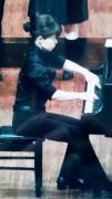 わらじいっぱいピアニストの音楽三昧