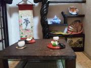 金魚鉢+ドールハウス製作記+