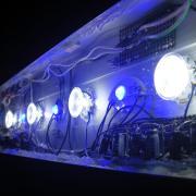自作のLED照明で水草水槽に挑む