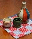 薄い麦茶はチープな香り