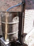 雨水タンクで雨水利用