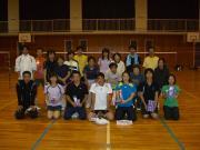 千葉県佐倉市王子台バドミントンクラブ