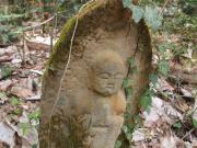 長野県生坂村の石仏