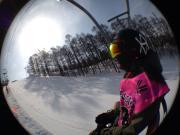 働かざる者、滑るべからず!Snowboard