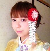 京都 加織屋 絹のつまみ細工髪飾り 着物 体験教室