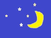 いにしへの月