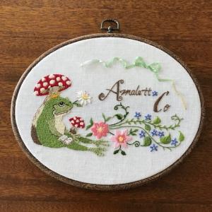 amalettの刺繍日和