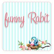 funny Rabbit - ハンドメイド布ナプキン -