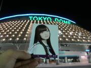 乃木坂46の始球式を東京ドームから実況中継するブログ