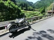 山とバイクと写真