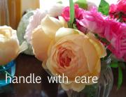 handle with care NOTE
