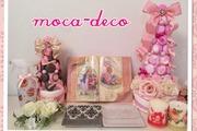 moca-decoデコパージュ・ポーセラーツ教室