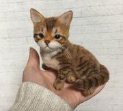 招き猫だるまの羊毛フェルト日和 ~オーダーメイド~