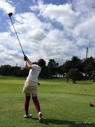 ゴルフやってます、、時々お習字