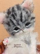羊毛・ファーで作る〜猫のテディベア〜