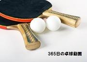 365日の卓球動画