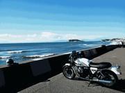 MotoGuzzi v7 classic 乗りです