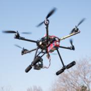 マルチコプター Aerial shoot