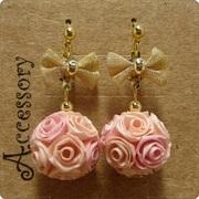 ロザフィ Rozafi 紙で作るバラのアクセサリー