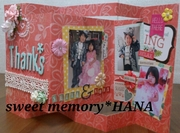 スクラップブッキング教室sweet memory*HANA