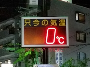 星田駅温度計