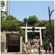 乃木神社骨董蚤の市